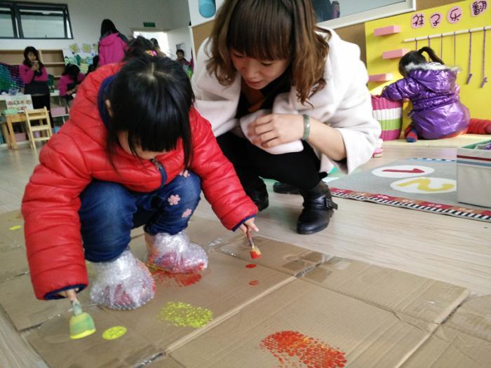 幼儿园的区域材料